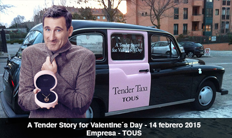 Campaña Tous febrero 2015, coches para eventos, a tender story for valentine´s day